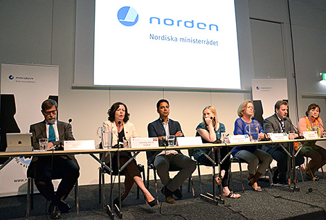 The Nordic Gender Equality Ministers at Nordic Forum.